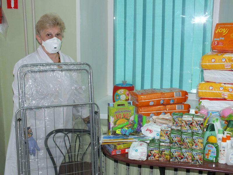 Благодійна допомога для дітей хворих на туберкульоз